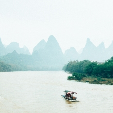 Reminiscing my time on the Li River, China.